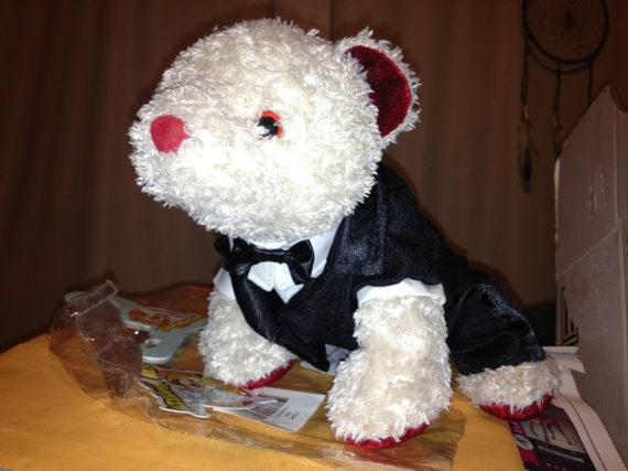 Bear acquired Tux! It is super handsome